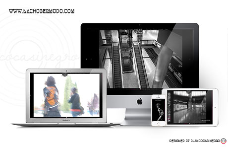 proffesional photographer website design