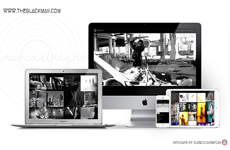 web creativa para productora audiovisual